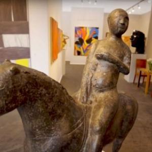 """5.000 ans d histoire de l art presentes par 133 exposants, issus de 14 pays (c) """"BRAFA"""""""
