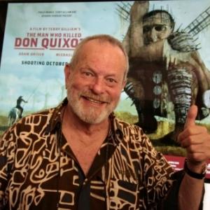 """""""L Homme qui tua Don Quichotte"""" : un Realisateur heureux, apres 18 Ans de Patience"""