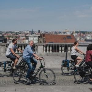 "Visites avec ""Pro Velo"" (c) ""Explore Brussels"""