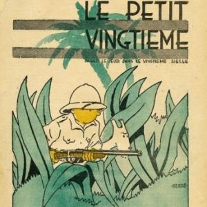 "Dans ""Le Petit Vingtieme"", fin Mai 1930 : bientot ""Tintin au Congo"" (c) Herge-Moulinsart 2019"