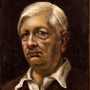 """""""Autoportrait"""" (Giorgio de Chirico/1949/40 x 30 cm) (c) """"Musee d Art moderne de la Ville de Paris"""""""