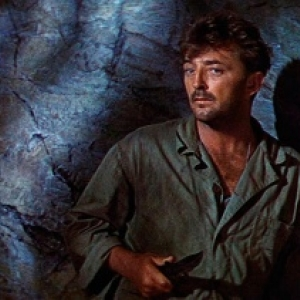"""Robert Mitchum, dans """"Dieu seul le sait"""" (John Huston)"""