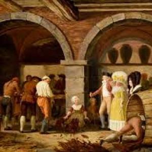 """""""Visite a la Manufacture de Tabac"""" (1787-1788) (c) Leonard Defrance (c) Ville de Liege"""