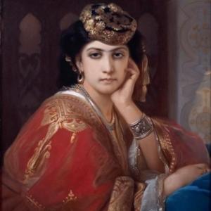 Portrait d Aicha (1866/Constant Joseph Brochard)