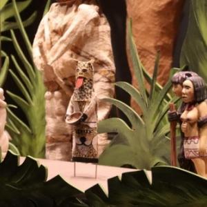 "Figurines realisees par des Ticuna (c) ""Musee international du Carnaval et du Masque"""