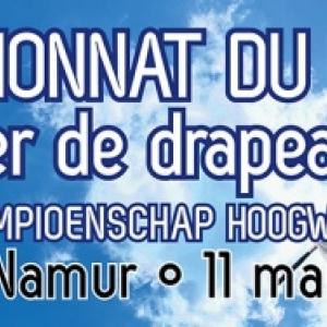 Championnats du Monde de Lancers de Drapeaux, à Namur, le 11 Mai