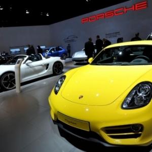 """Sur le Stand """"Porsche"""""""