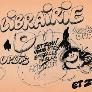 """Gaston Lagaffe"" (c) Andre Franquin (c) ""Autographes Manuscripta"" (c) ""Caracas"""