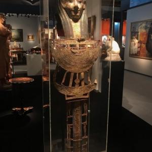 """Parement de momie ptolemaique (c) Galerie """"Spa Antiquites"""""""