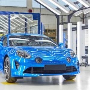 """Nouvelle """"Alpine A110"""" (c) """"Renault"""""""