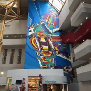 """Grand Hopital"" (15 x 28 m/Charleroi)  (c) Luis Salazar"