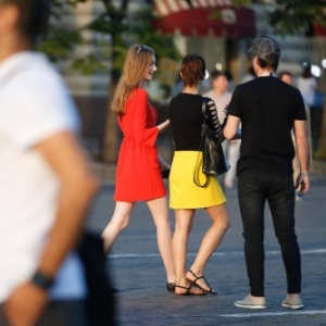 "Noir-jaune-rouge, a Moscou(c) Bruno Fahy/""Agence Belga"""