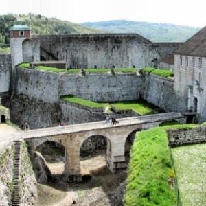 """Citadelle de Besançon/1668 (c) """"Justacote"""""""