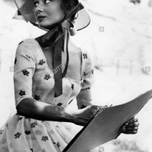 """Guerre et Paix"" : Audrey Hepburn"