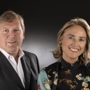 "Luc Darte, Managing Director, et Diane Kervyn, Exhibition Manager (c) ""Fairtime"""