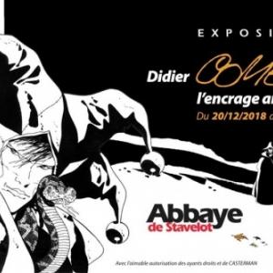 """""""Didier Comes, l Encrage ardennais"""" (c) Abbaye de Stavelot"""