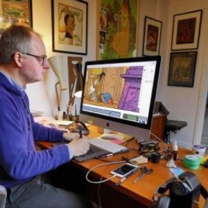 La Fantasmagorie des Couleurs de l Illustrateur belge Laurent Durieux (c) Sylvain Piraux
