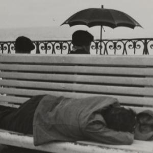 """""""Le Banc""""/Nice, 1936 (c) Pierre Jamet/""""Centre Pompidou"""""""
