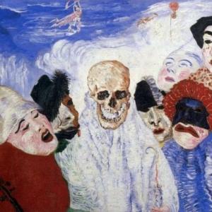 """""""La Mort et les Masques"""" (1897) (c) James Ensor (c) Ville de Liege"""
