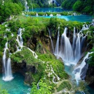 Les cascades du Parc National de la Krka, en Croatie