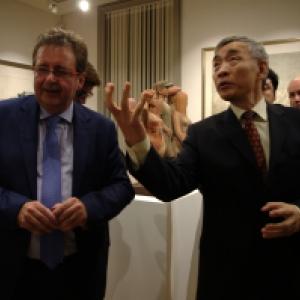 """(c) L'Ambassadeur & le Ministre""""Centre culturel de la Chine à Bruxelles"""""""