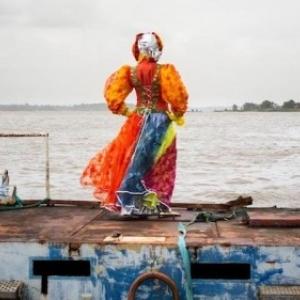 """Une """"Touloulou"""" au large de la Cote Guyanaise (c) Laure Chatrefou"""
