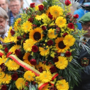 """L Hommage a Francois Bovesse, dans les Jardins du Palais Provincial (c) Albert Blond/""""CCW"""" 2018"""