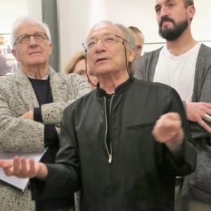 """Ernest Pignon-Ernest, au """"Museum"""" du """"Botanique"""" (c) Laszlo Arany"""