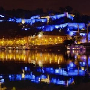 """La Citadelle et son superbe eclairage (c) """"Le Soir"""""""