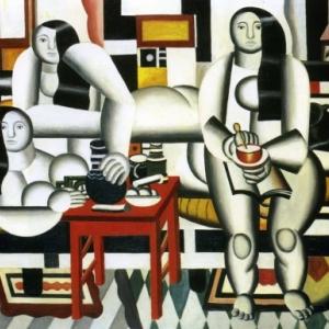"""Le Dejeuner"" (Fernand Leger, 1921-1922) (c) ""SABAM""-Belgium"
