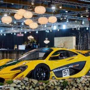 "Une ""Dream Car"" 2018, la ""McLaren P1 GTR"""