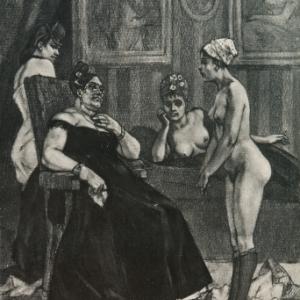 """""""Le Conseil de Revision""""/Felicien Rops/1878/(c) Province de Namur"""