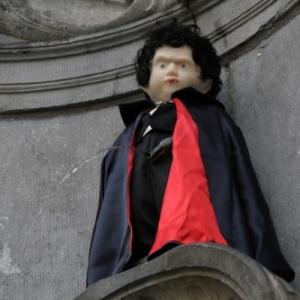 """Manneken Piss"" devenant ""Dracula"""