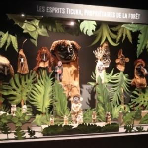 """Quelques masques de le la tribu Ticuna (c) """"Musee international du Carnaval et du Masque"""""""