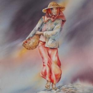 """""""Femme au Laos"""" (c) Pedagie Bertin"""