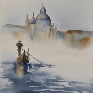 """""""Venise""""/Micheline Paulus"""