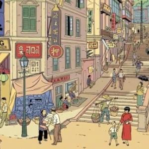 """Menace sur Hong-Kong"" (c) Teun Berserik et Peter van Dongen/""Dargaud"""