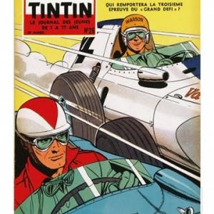 Couverture Journal Tintin 1958 - Numero 26 (c) Jean Graton/Graton Editeur 2018