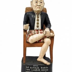 "Roi de Lombok (c) ""Musee National d Indonesie"""