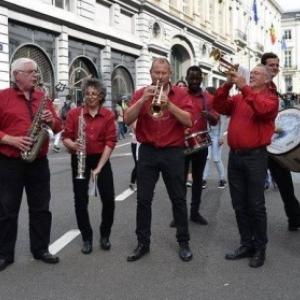 """La """"Collegians Band"""", une """"dixie band"""" dejantee aux musiques entrainantes et amusantes"""