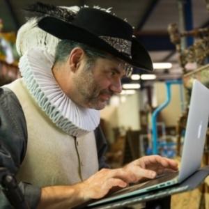 Bart Ramakers au travail