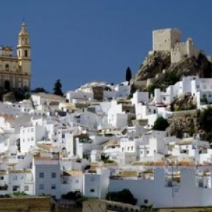 """Espagne : un """"village blanc"""", en Andalousie (c) Florent Delchambre"""