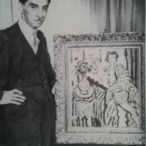 "Paul Rosenberg devant une oeuvre de Matisse (c) ""MoMA""-New York"