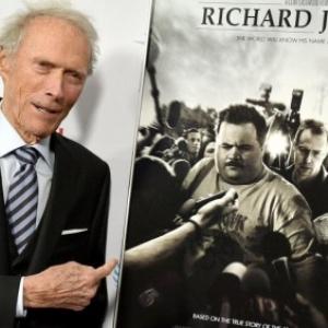 """Clint Eastwood et l'affiche de son dernier film : """"Richard Jewell"""""""