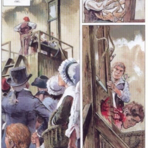 """""""Terreur"""", un diptyque dessine par (c) Rene Follet/Ed. """"Le Lombard"""", 2002 & 2004"""