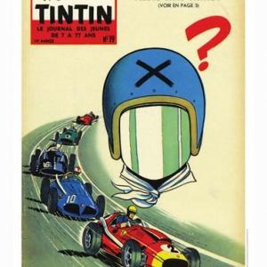 Couverture Journal Tintin 1959 - Numero 19 (c) Jean Graton/Graton Editeur 2018