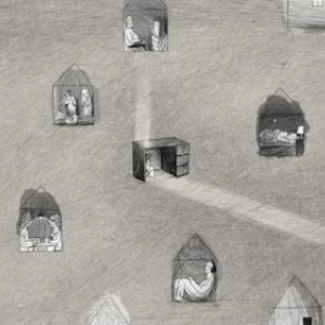 """""""My father's room"""" © """"Korea Independent Animation Filmmakers Association"""""""