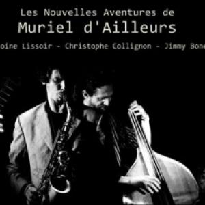 """Muriel d Ailleurs et son """"Swing Band"""""""