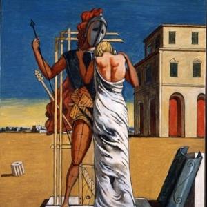 """""""Cri d Amour"""" (Giorgio de Chirico/1974/102 x 82 cm) (c) """"SABAM Belgium 2019"""""""