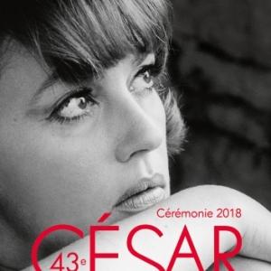 """Affiche des 43emes """"Cesar"""", en 2018, avec Jeanne Moreau"""